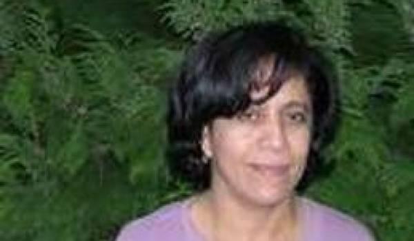 Cherifa Kheddar, présidente de l'association Djazaïrouna;