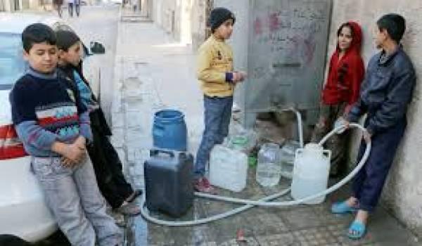 Une pénurie d'eau en plein hiver !