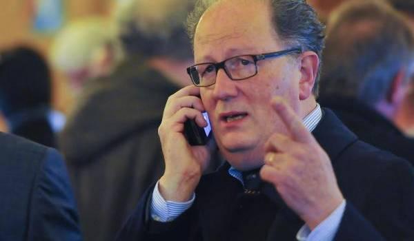 Pascal Gannat, tête de liste du FN en Pays de la Loire. Photo François Navarro.