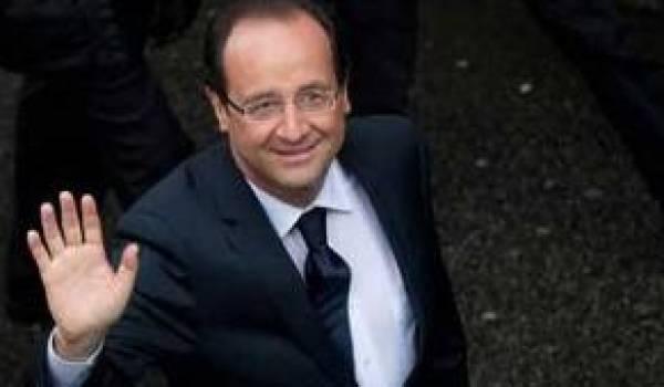 François Hollande, nouveau président français.