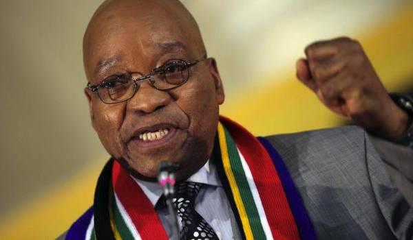 Jacob Zuma, président d'Afrique du sud.