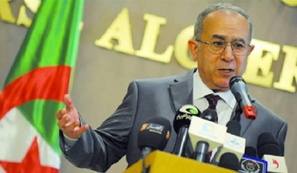 Ramtane Lamamra, ministre des Affaires étrangères