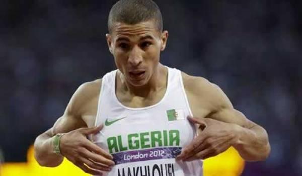 Taoufik Makhloufi médaille d'or du 1500 m