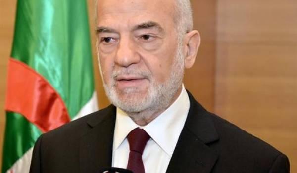 Le ministre irakien des Affaires étrangères, Ibrahim Al-Ashaiqer Al-Jaafari,