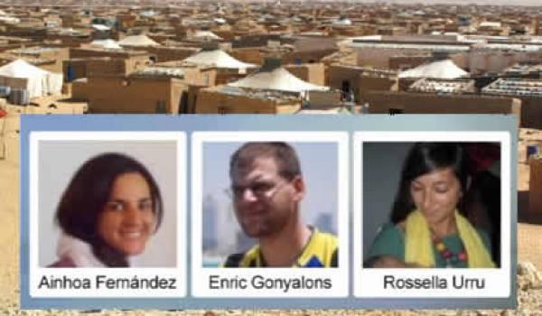 Les trois humanitaires ont été kidnappés dans un camp sahraoui.