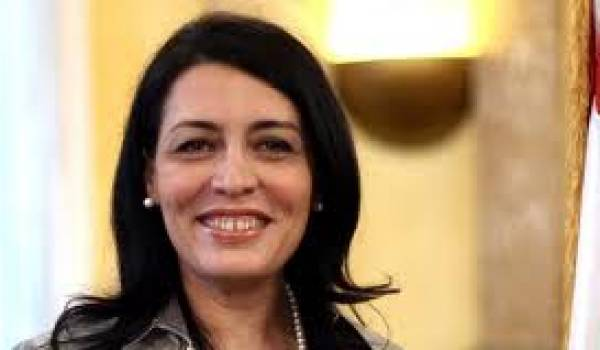 L'ambassadrice syrienne en France