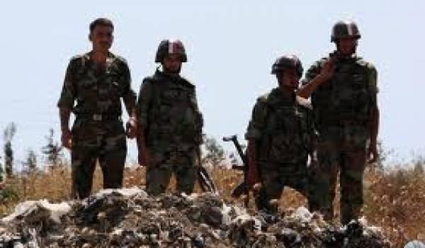 Des soldats syriens en opération