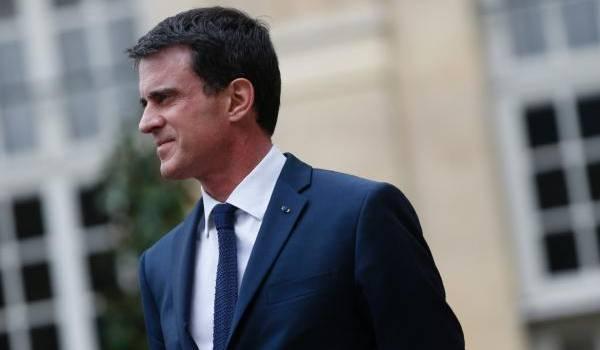 Manuel Valls, le premier ministre français. Photo AFP
