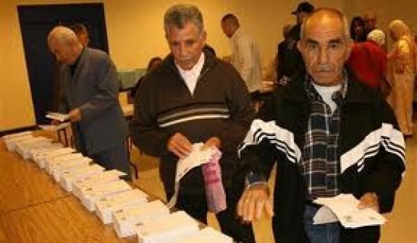 57 d 39 alg riens ont boud les urnes selon les chiffres for Interieur gov dz vote