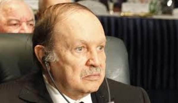 Abdelaziz Bouteflika, président.