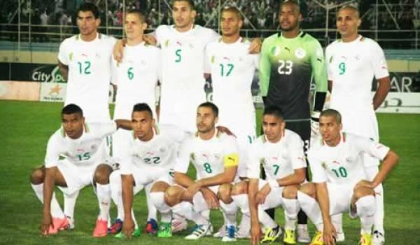 L'équipe nationale de football.