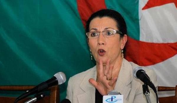 Louiza Hanoune, SG du PT.