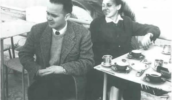 Pierre et Claudine Chaulet en Tunisie ( 1958)
