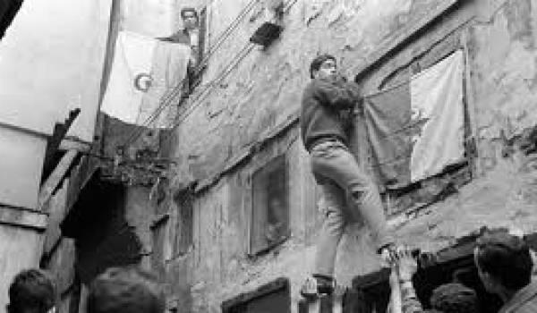 Image de l'indépendance algérienne.
