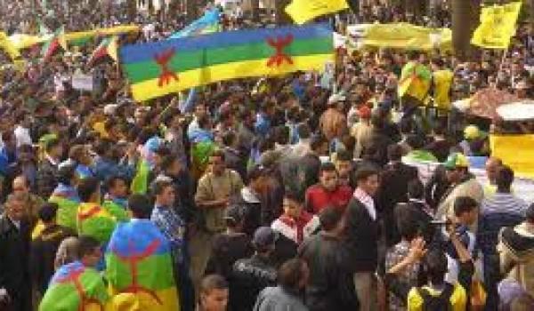 Manifestation des Amazighs.