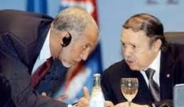 Bouteflika et Belkhadem, une connivence de longue date.