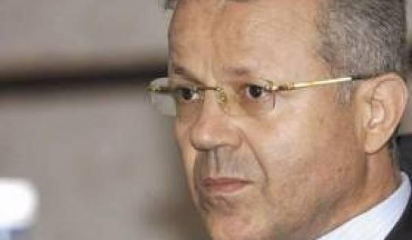 Boubekeur Benbouzid, éternel ministre de l'Education nationale.