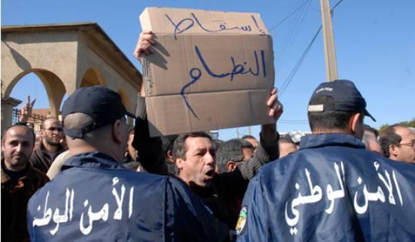 Les interdictions de toutes les manifestations et les arrestations de militants sont monnaie courante en Algérie.