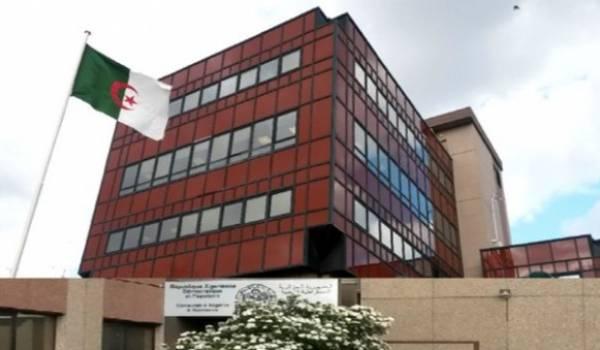 Consulat algérien en France.