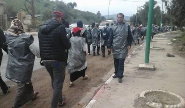 Les contractuels poursuivent leur longue marche vers Alger