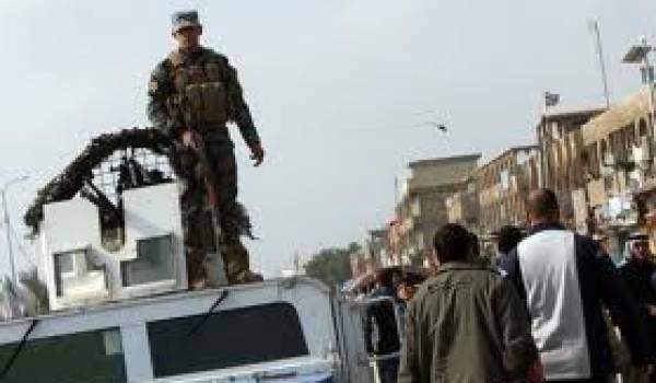 Sept attentats à la bombe en Irak.