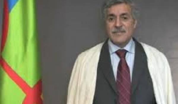 Ferhat Mehenni, président du GPK,  est un militant qui prend ses responsabilités.