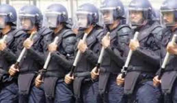 Des informations nous sont parvenues sur l'intervention imminent de la police pour démanteler le camp des grévistes
