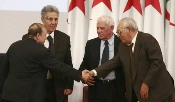 Quelques-uns des présidents algériens.