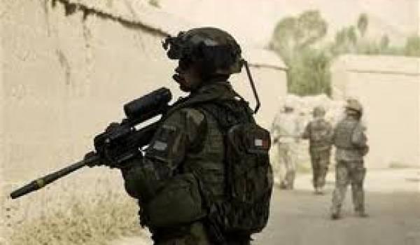 Les soldats ont été la cible d'un kamikaze déguisé en femme portant niqab