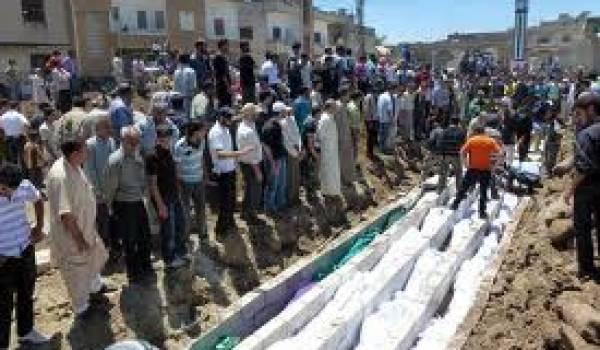 Enterrement des victimes du massacre de Houla