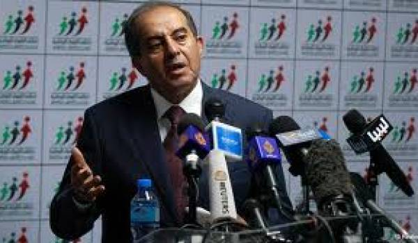 Mahmoud Djibril, ancien premier ministre libyen.