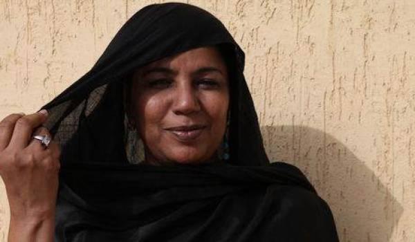 Nina Wallet Intalou, une des figures de proue du Mouvement touareg de l'Azawad.