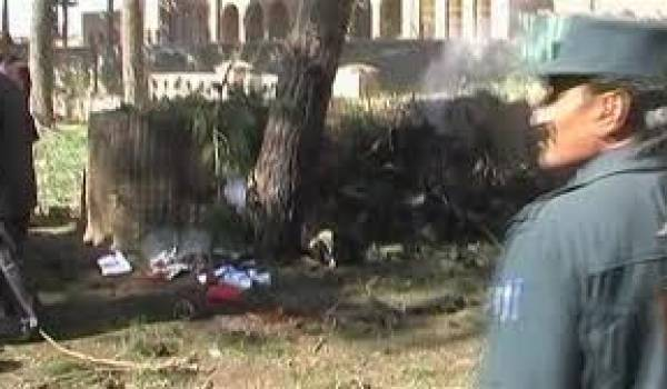 L'attentat kamikaze a eu lieu pendant un mariage.