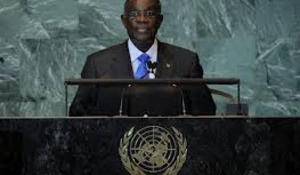 Le président Atta Mills