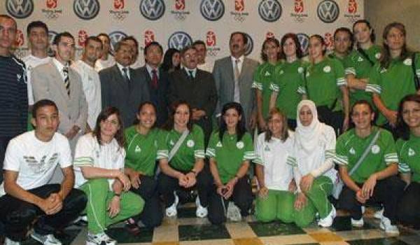La délégation algérienne  aux JO de Londres