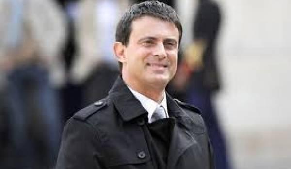 Emmanuel Valls, ministre de l'Intérieur français.