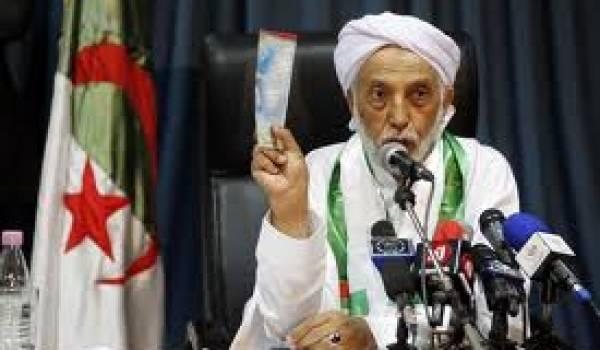 Abdelaziz Belkhadem, le patron du FLN