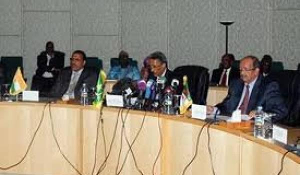 Les ministres des Affaires étrangères en réunion à Niamey.