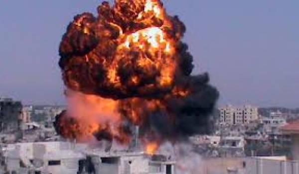 Alep est le centre de violents affrontements armés