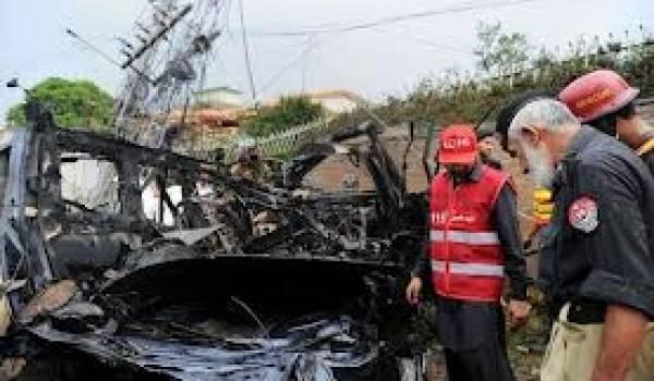 Pakistan : 2 Pakistanais et 2 Américains tués un attentat kamikaze