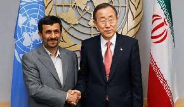 Malgré les réserves de certains pays, Ban Ki-moon ira à Téhéran.