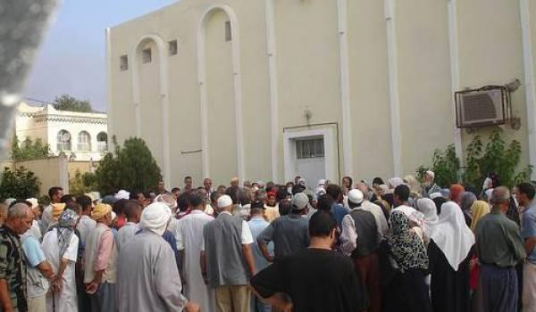 Une distribution de couffins du ramadhan
