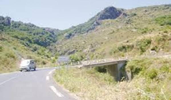 C'est sur la route en direction de Dellys que les freins du car ont cédé.