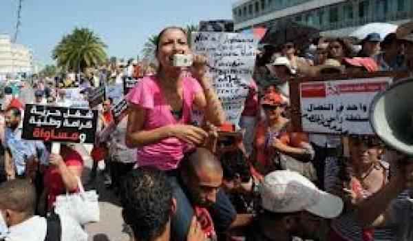 """Les femmes du réseau """"Wassila"""" solidaires des femmes tunisiennes"""
