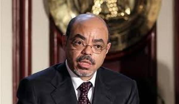 Meles Zenawi, premier ministre éthiopien.