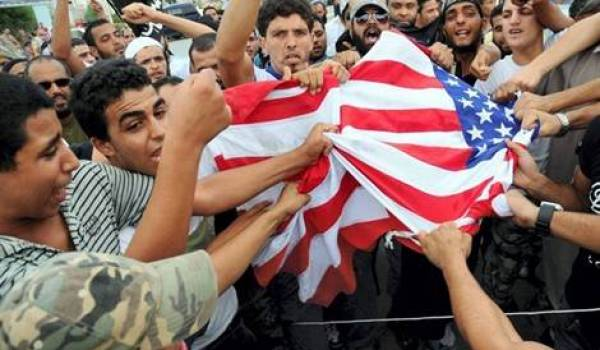 Manifestation en Tunisie, ce vendredi.