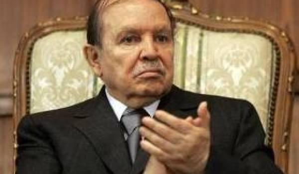 Le président Bouteflika.