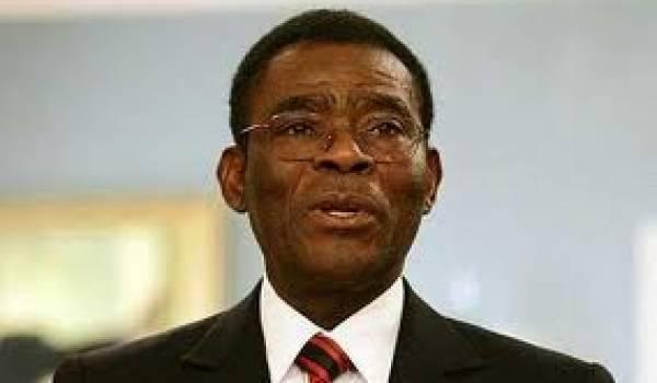Le président Teodoro Obiang Nguema