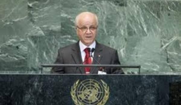 Mourad Medelci à l'Onu
