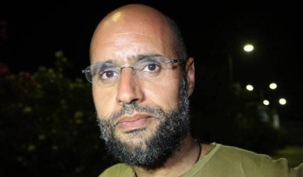 Seif Al Islam Kadhafi.